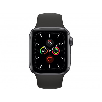 Смарт-годинник Apple Watch Series 5 44mm Space Gray Aluminum Case with Black Sport Band MWVF2GK/A