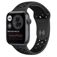 Apple Watch Nike SE 40mm GPS Space Gray Aluminum Case with Anthracite/Black Nike SportBand (MYYF2)